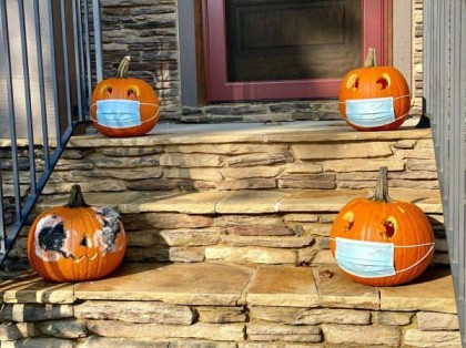 Post-CoVid Halloween decorations